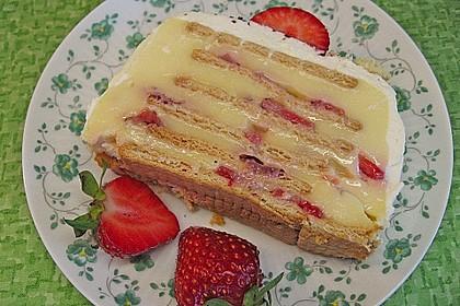 Himbeer - Keks - Kuchen von Sarah 1