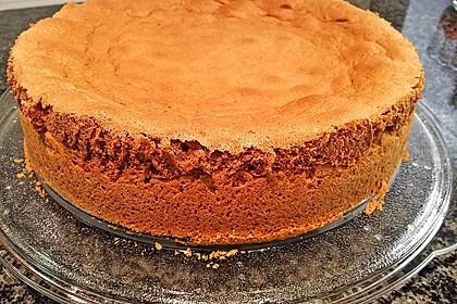 Apfelkuchen mit Mürbeteig und Kakaobiskuit 11