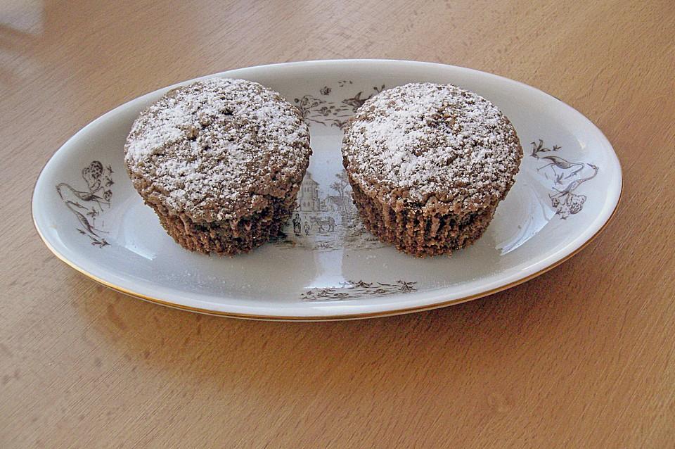 muffins mit schokolade und kaffee rezept mit bild. Black Bedroom Furniture Sets. Home Design Ideas
