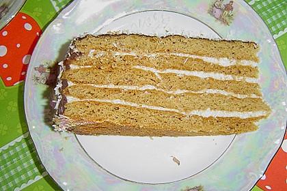 Honigkuchen mit Grießfüllung 2