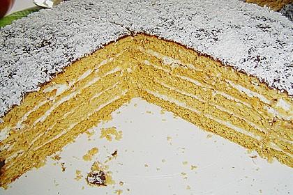 Honigkuchen mit Grießfüllung 1
