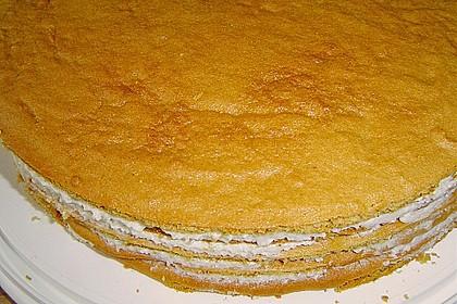 Honigkuchen mit Grießfüllung 5