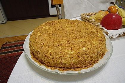 Honigkuchen mit Grießfüllung 3