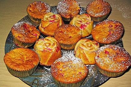 Ribisel - Muffins mit Haferflocken 8