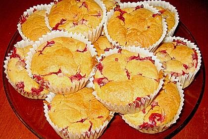 Ribisel - Muffins mit Haferflocken 6