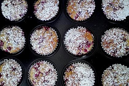 Ribisel - Muffins mit Haferflocken 10