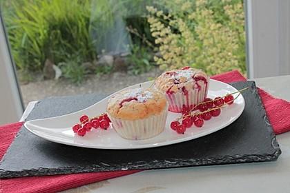 Ribisel - Muffins mit Haferflocken 5