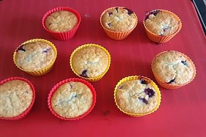 Ribisel - Muffins mit Haferflocken 4