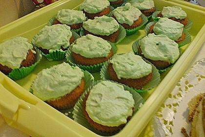 Zitronen - Cupcakes mit Waldmeister - Frischkäse - Creme 68