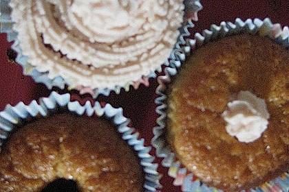 Zitronen - Cupcakes mit Waldmeister - Frischkäse - Creme 72