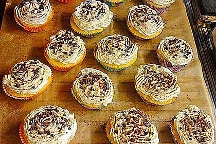 Zitronen - Cupcakes mit Waldmeister - Frischkäse - Creme 63