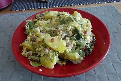 Kartoffel - Gröstl mit Lauch 3