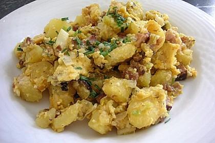 Kartoffel - Gröstl mit Lauch 1