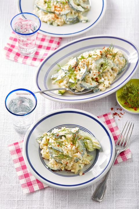 Salat mit schafskase dressing