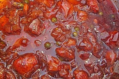 Erdbeer - Chili - Chutney