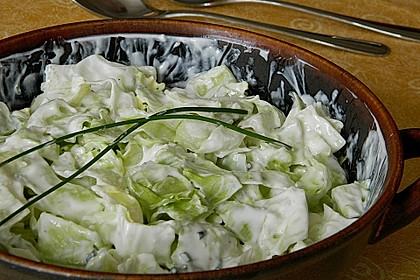 Sommersalat mit leichtem Dressing 1