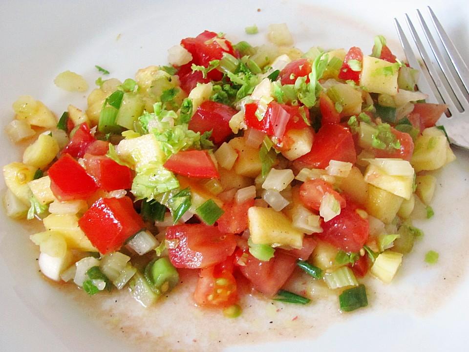 Salat stangensellerie rezept