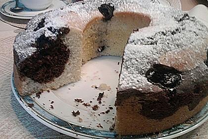 Marmorkuchen mit Kirschen 40