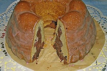 Marmorkuchen mit Kirschen 57