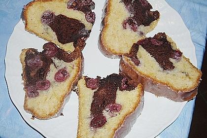 Marmorkuchen mit Kirschen 27