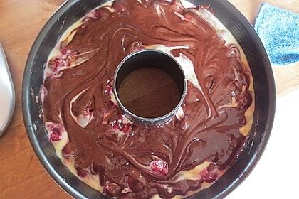 Marmorkuchen mit Kirschen 47