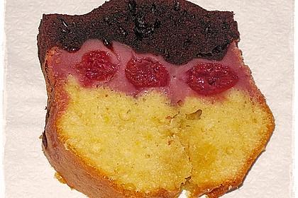 Marmorkuchen mit Kirschen 14