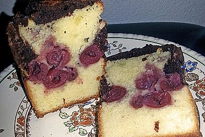 Marmorkuchen mit Kirschen 43