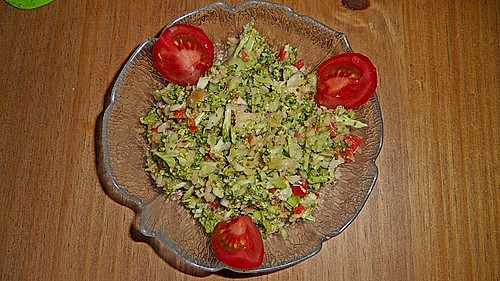 brokkoli wellness salat rezept mit bild von. Black Bedroom Furniture Sets. Home Design Ideas