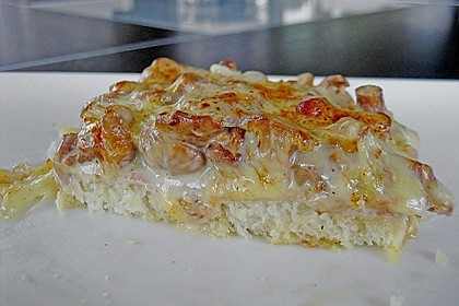 Schinken - Käse - Toast à la Marquise