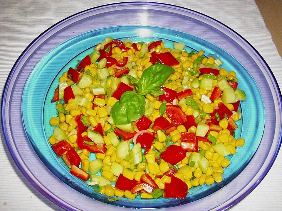 Mais Paprika Salat