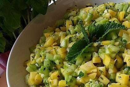 Mango - Gurken - Salat 8
