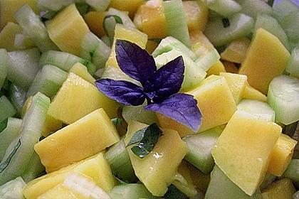 Mango - Gurken - Salat