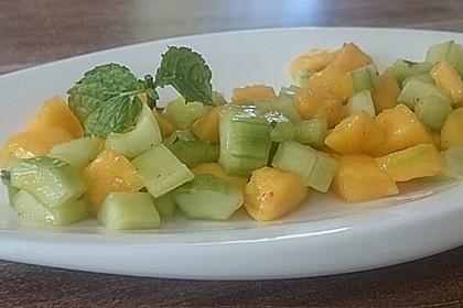 Mango - Gurken - Salat 3