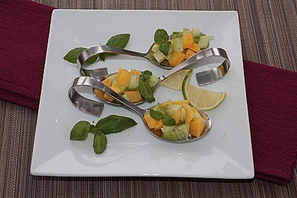 Mango - Gurken - Salat 4