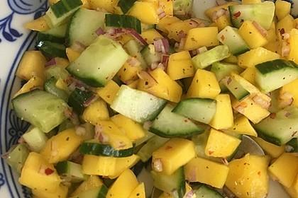 Mango - Gurken - Salat 7