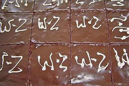 Schokoladen - Schmand - Joghurt - Sahne - Kuchen 1