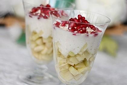 Apfeljoghurt (Bild)