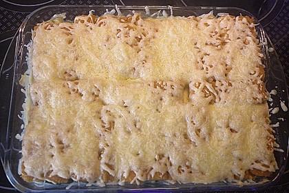 Fischstäbchen auf Kartoffelpüree 7