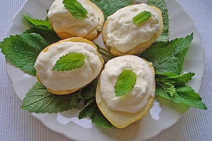 Frozen Joghurt 'Zitrone'