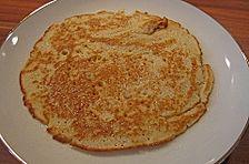 Pfannkuchen mit Hafermilch