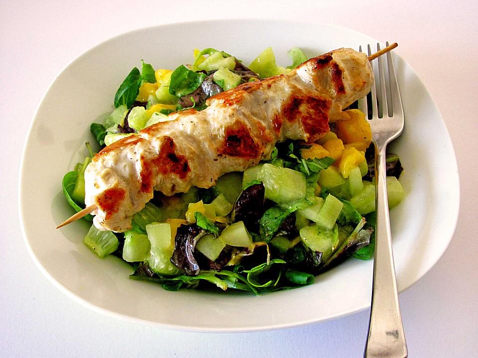 mango gurken salat rezept mit bild von pralinchen. Black Bedroom Furniture Sets. Home Design Ideas