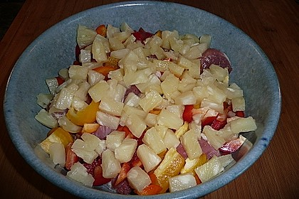 Schnelles Schweinefleisch-Gemüse-Curry aus dem Ofen