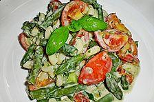 Toskanischer Bohnen - Nudelsalat