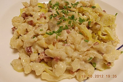 Speck - Lauch - Käsespätzle 4