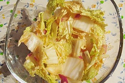 Chinakohlsalat pikant 7