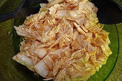 Chinakohlsalat pikant