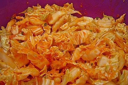 Chinakohlsalat pikant 4