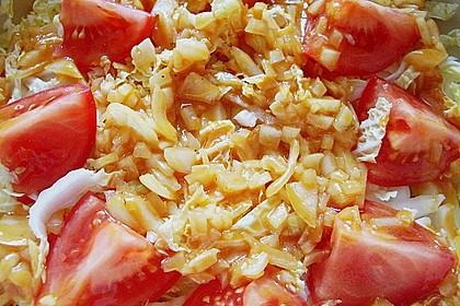 Chinakohlsalat pikant 9