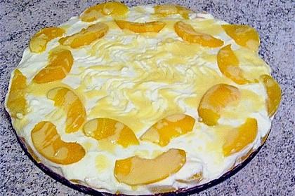 Philadelphia - Torte Pfirsich - Eierlikör