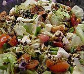 Tomaten - Mozzarella - Salat (Bild)